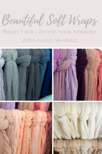 newborn wraps for swaddles in every color