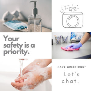 safety measures newborn photography