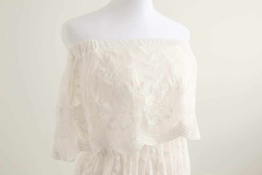 cream lace dress for moms